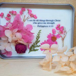 Pink Dreams pocket flower garden