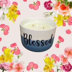 Ylang Ylang Geranium essential oils candle